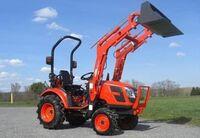 Фронтальный погрузчик для трактора и минитрактора