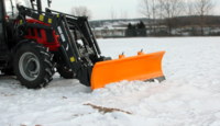 Отвал для уборки снега SPRING Metal-Fach