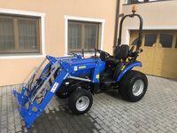 Трактор SOLIS 26 HST (гидростатическая трансмиссия) газонные колеса