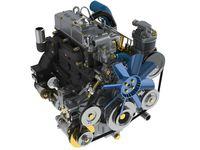 Дизельный двигатель ММЗ MMZ-3LD