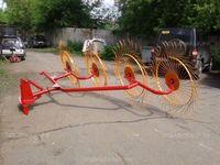 Грабли ворошилки 4-колесные