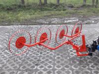 Грабли-ворошилки 4-колесные ВМ-4