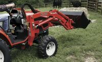 Фронтальный погрузчик на трактор KIOTI СК2810/СК2810 H