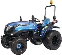 Трактор SOLIS 26 TIGER EDITION BLUE/RED