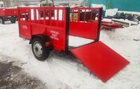 Прицеп для перевозки скота ПТО-2.0